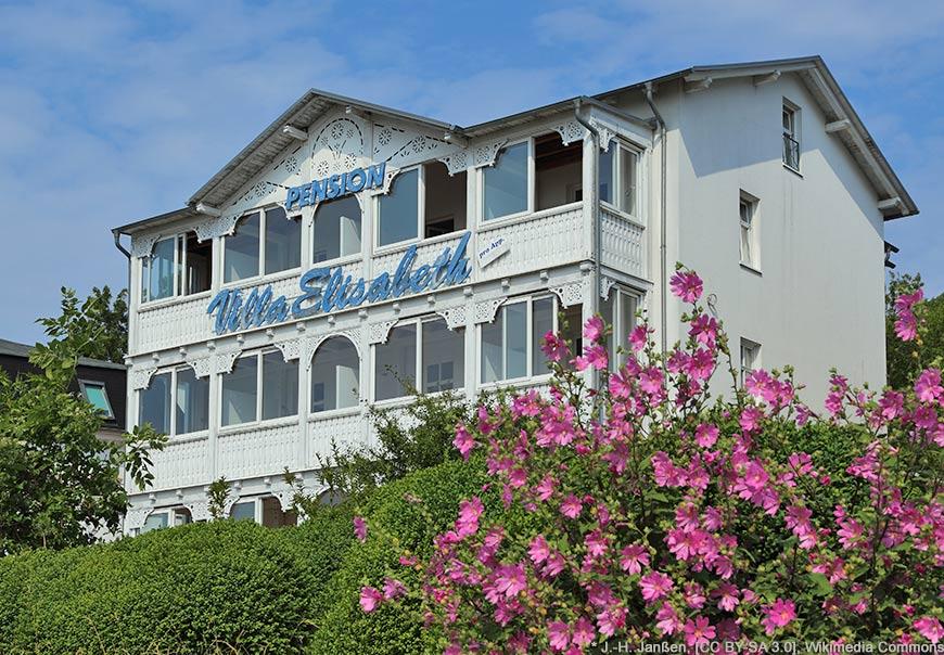 Bäderarchitektur in Sassnitz - Villa Elizabeth