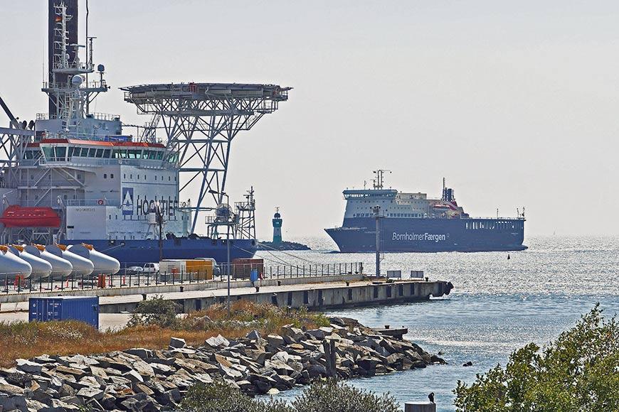 Fährhafen Sassnitz-Mukran