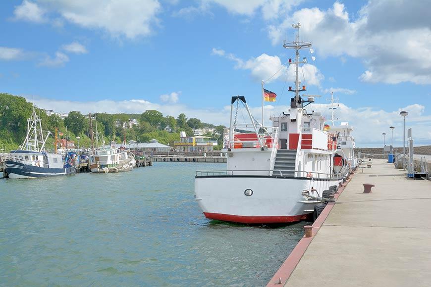 Hafen in Sassnitz