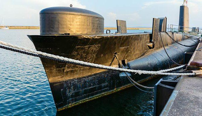 Das U-Boot HMS Otus (S18) in Sassnitz
