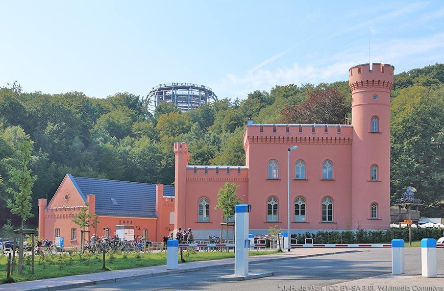 Das Forthaus Prora im Naturerbe-Zentrum Rügen