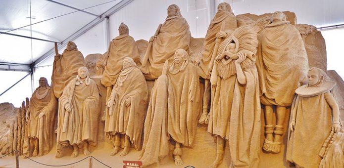 Sandskulpturen-Festival Binz