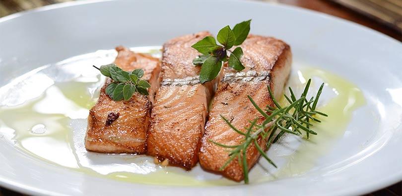 Sassnitz Restaurant - Lachs