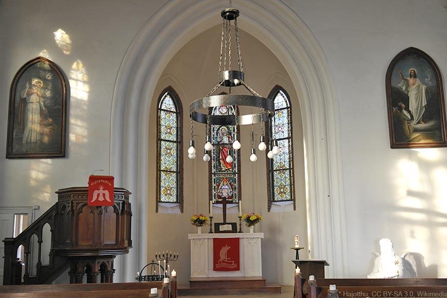 St.-Johannis-Kirche - Innenraum